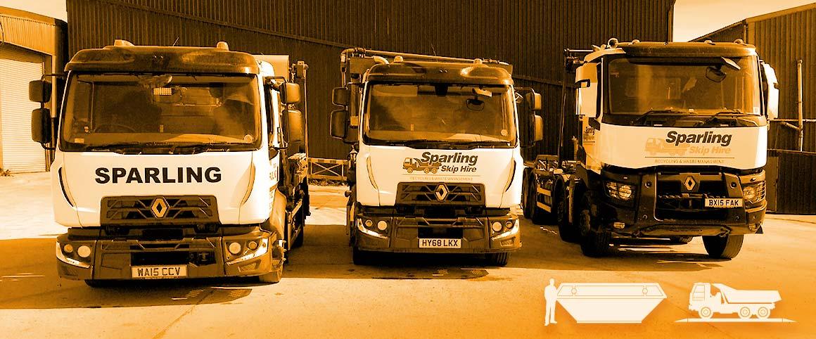 Sparling Skip Hire Tavistock Launceston Okehampton Callington Cornwall Devon