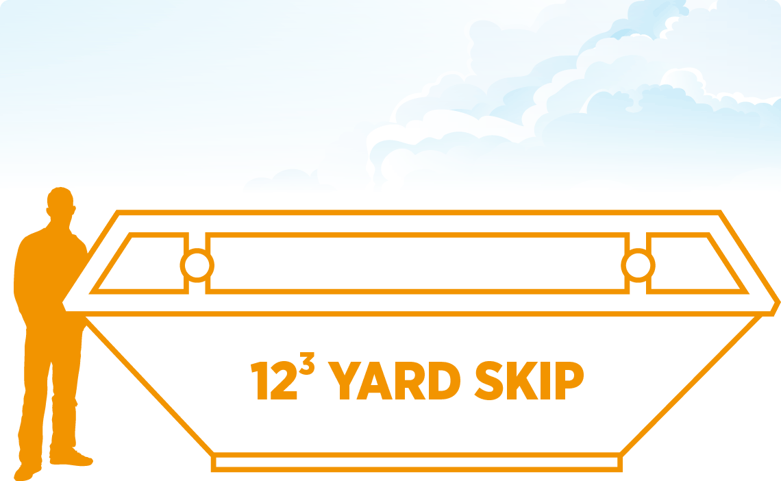 Tavistock Skip Hire 12 Yard Skip