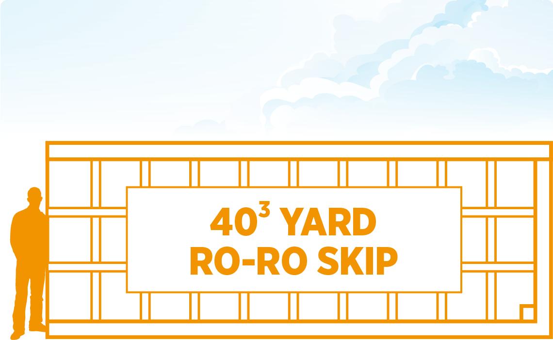 Tavistock Skip Hire 40 Yard Roll On Roll Off Skip
