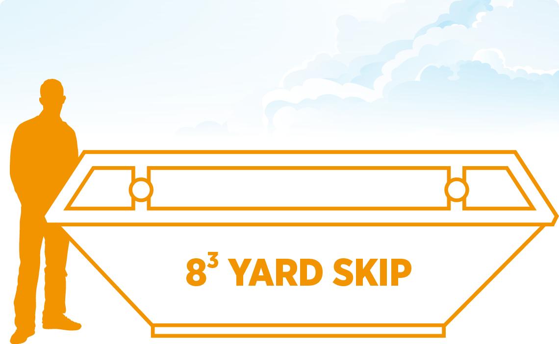 Tavistock Skip Hire 8 Yard Skip